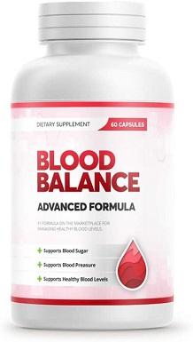 un suplemento de Blood Balance para la presión arterial alta